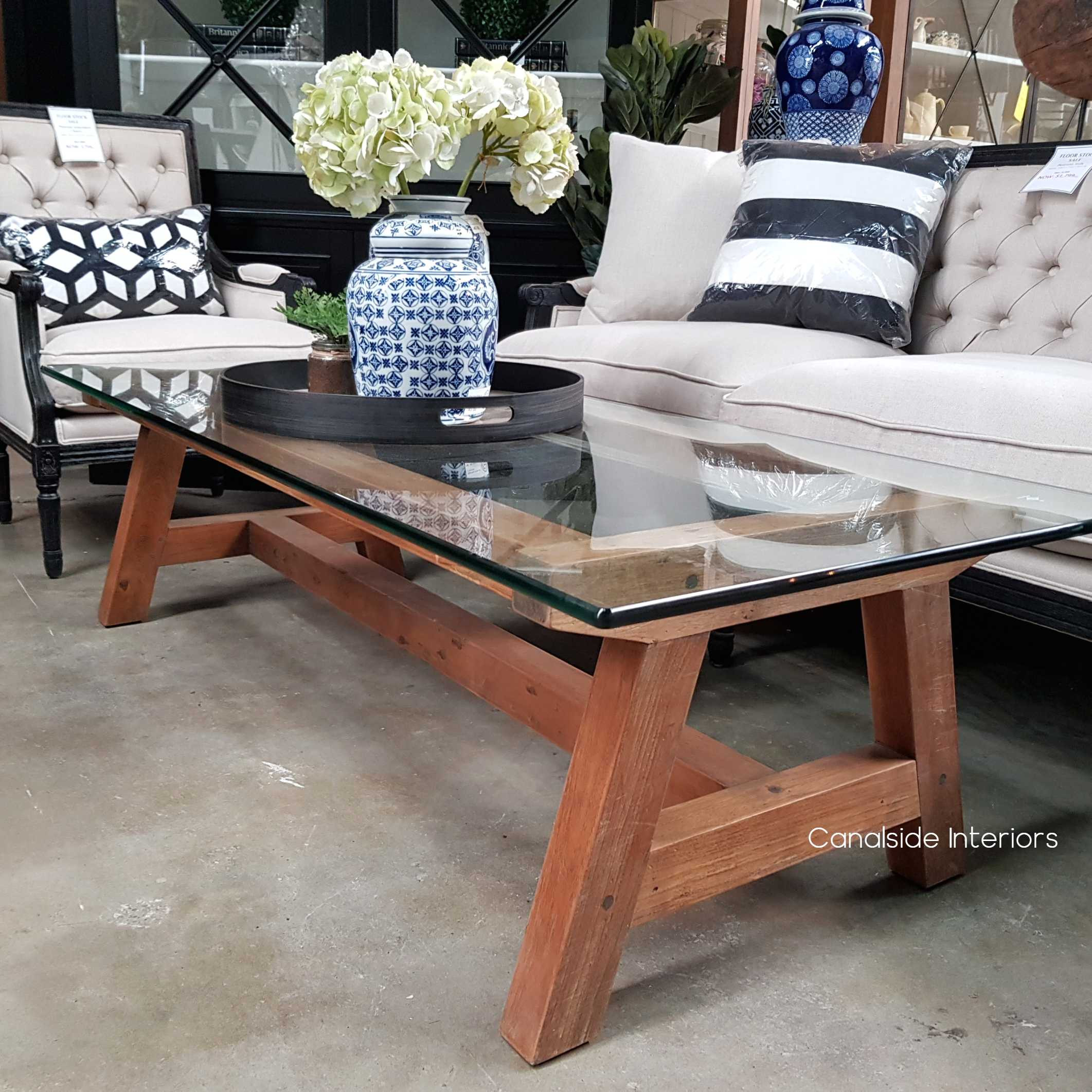 Galaxy Glass Coffee Table  TABLES, HAMPTONS Style, PLANTATION Style, TABLES Coffee Tables, LIVING Room, LIVING Coffee & Side Tables