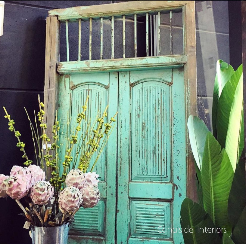 Reclaimed Antique Door VI  INDUSTRIAL RUSTIC Style, Accessories, CAFE FURNITURE, LIVING