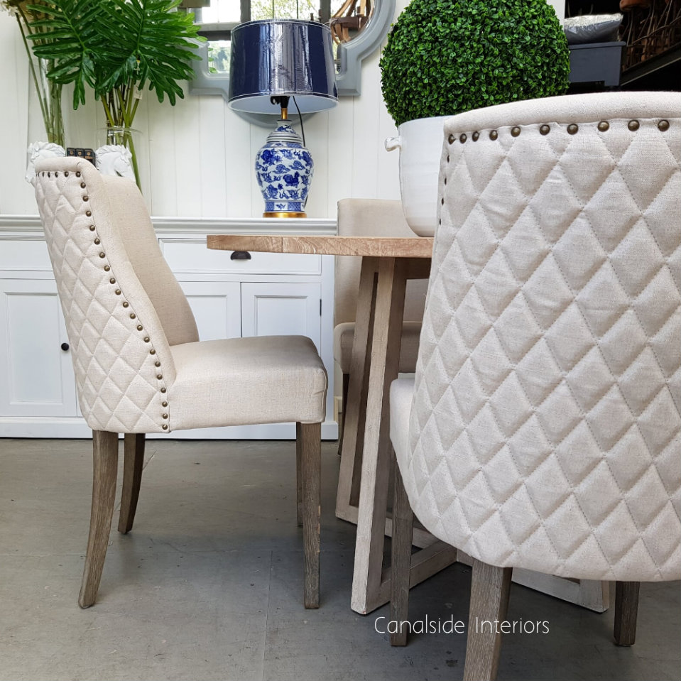 Bingley Dining Chair with Quilting
