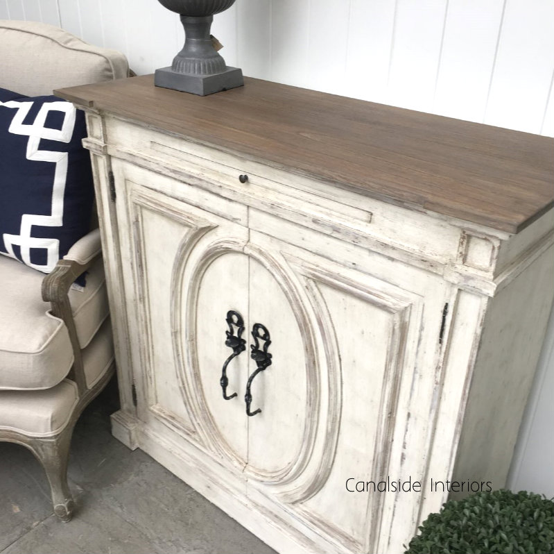 Marmont Sideboard Distressed StoneWeathered Oak  FRENCH  FURNITURE, HAMPTONS Style, PLANTATION Style, LIVING TV Media & Storage, TABLES Sideboards & Buffets, STORAGE, STORAGE Sideboards & Buffets