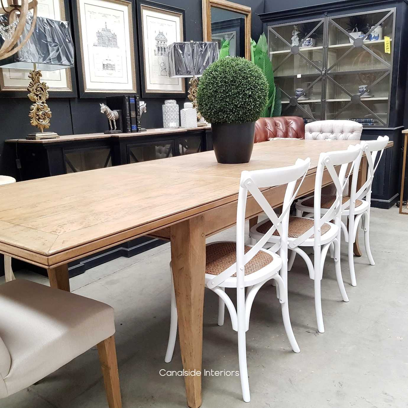 Lavinia Double Extension Dining Table DOUBLE EXTENSION 3.1M  TABLES, HAMPTONS Style, PLANTATION Style, TABLES Dining Tables