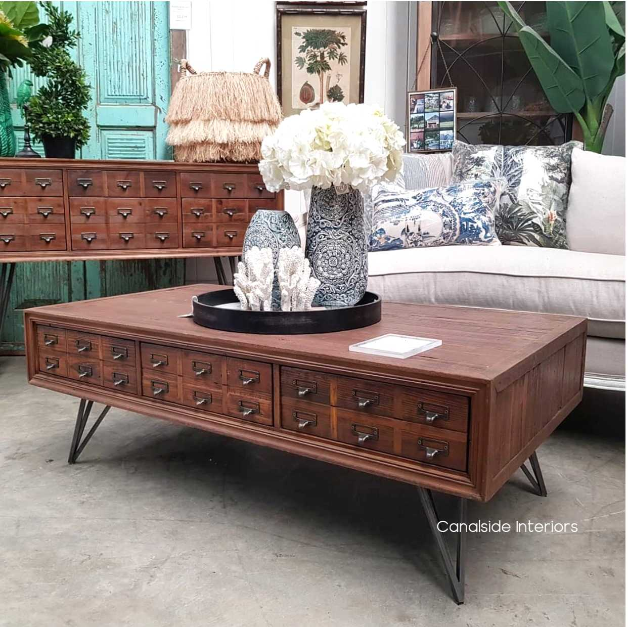 - Apothecary Coffee Table - Canalside Interiors