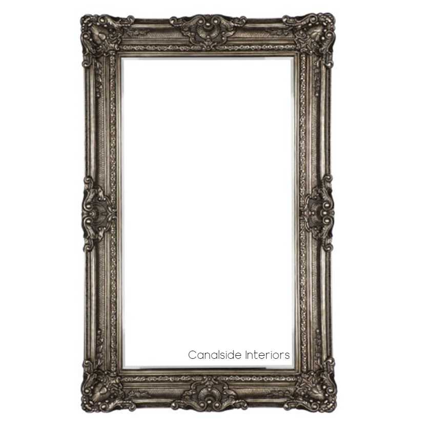Champagne Large Floor Mirror