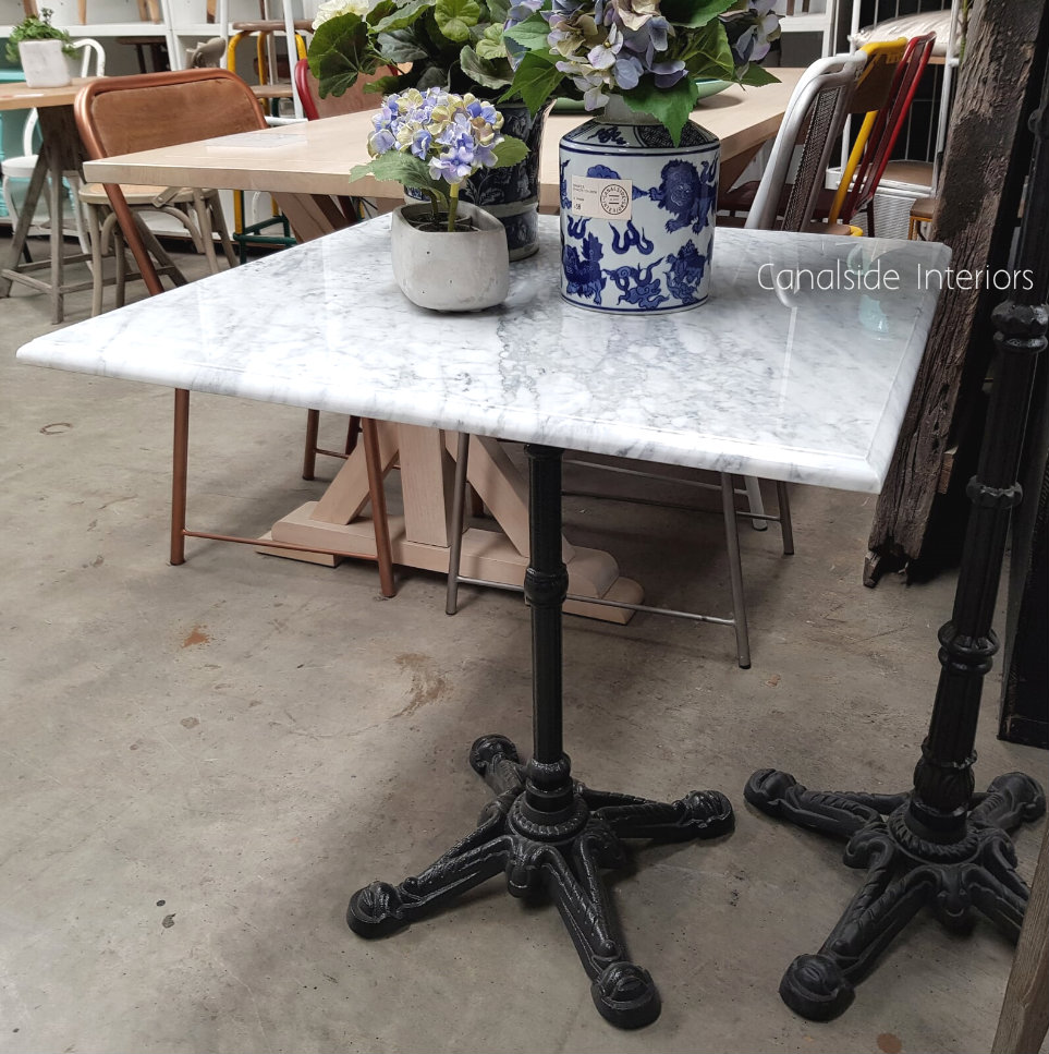 Cafe Table Top Carrara Marble Square CAFE FURNITURE, CAFE FURNITURE Table Tops & Tables