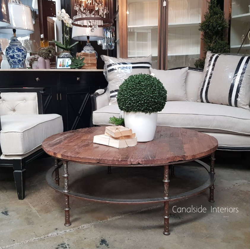 Hayden Street Round Coffee Table