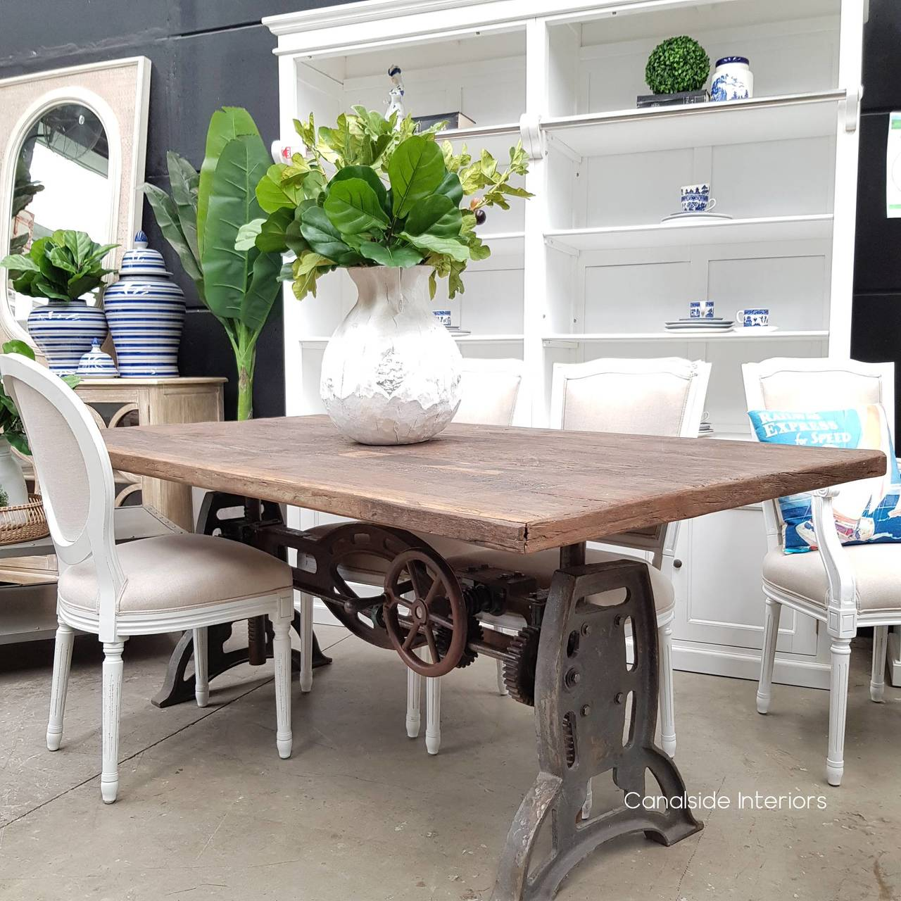 Phoenix Adjustable Dining To Bar Table Canalside Interiors