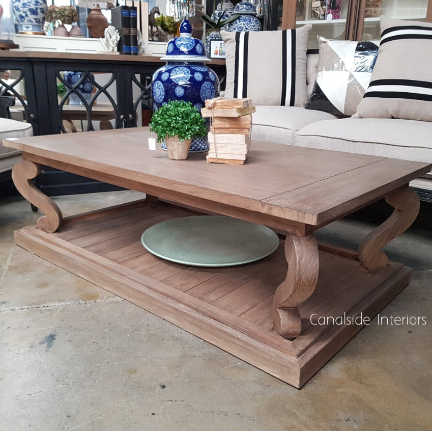Austen Coffee Table Weathered Oak  TABLES, HAMPTONS Style, PLANTATION Style, TABLES Coffee Tables, LIVING Room, LIVING Coffee & Side Tables