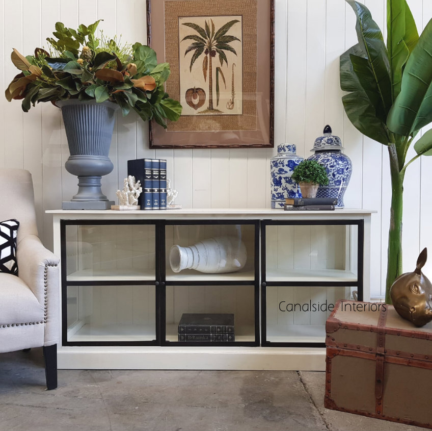 Alistair Glass TV Unit/ Sideboard