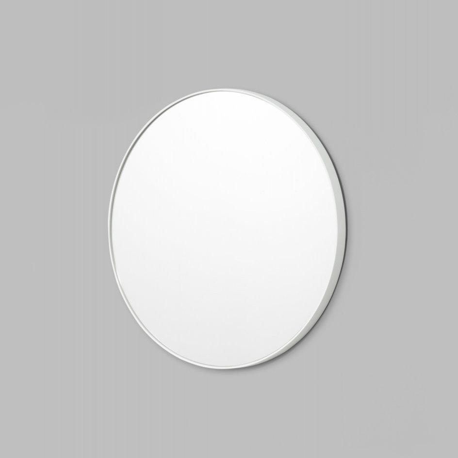 Bjorn Round Mirror Bright White MIRRORS