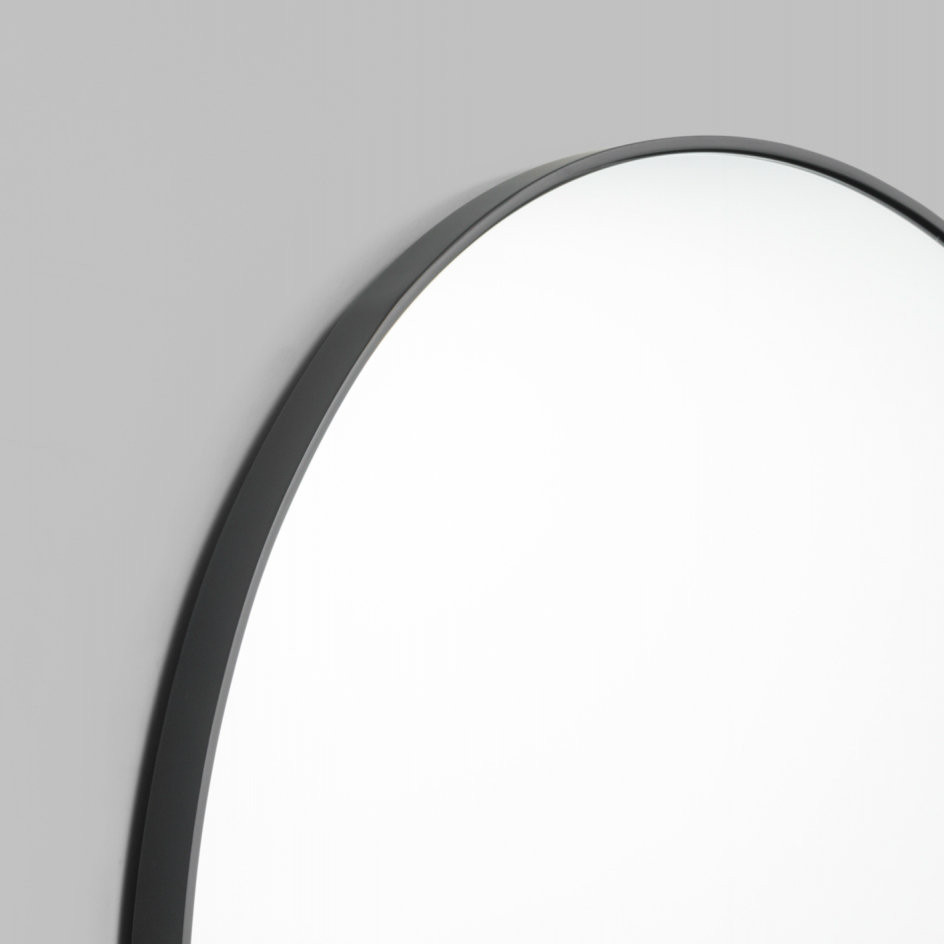 Bjorn Round Mirror Black MIRRORS