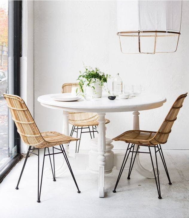 Rattan Dining Chair Image via Pinterest. Contact us for details