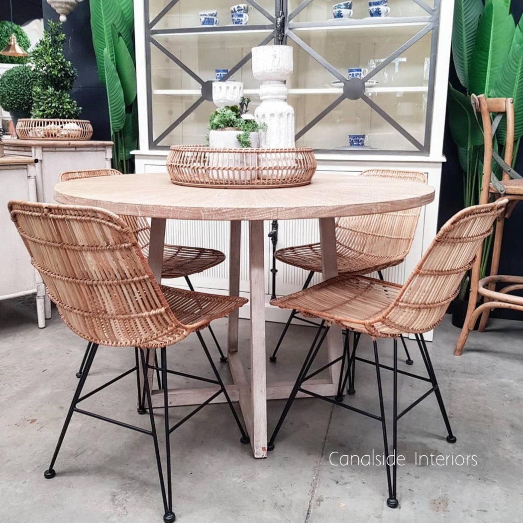 Rattan Dining Chair - Natural