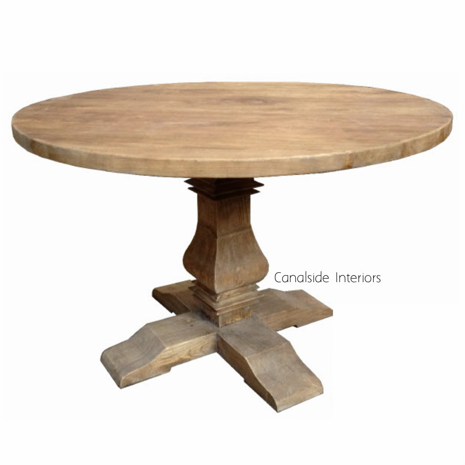 Artisan Round Dining Table - 120cm (diam)