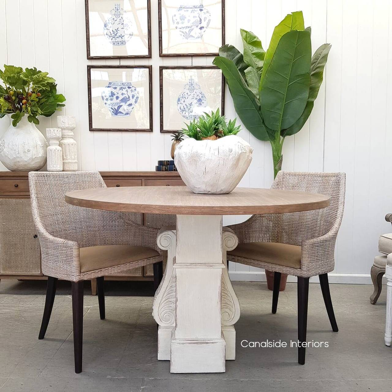 Bolton Round Dining Table  TABLES, TABLES Dining Tables, PLANTATION STYLE