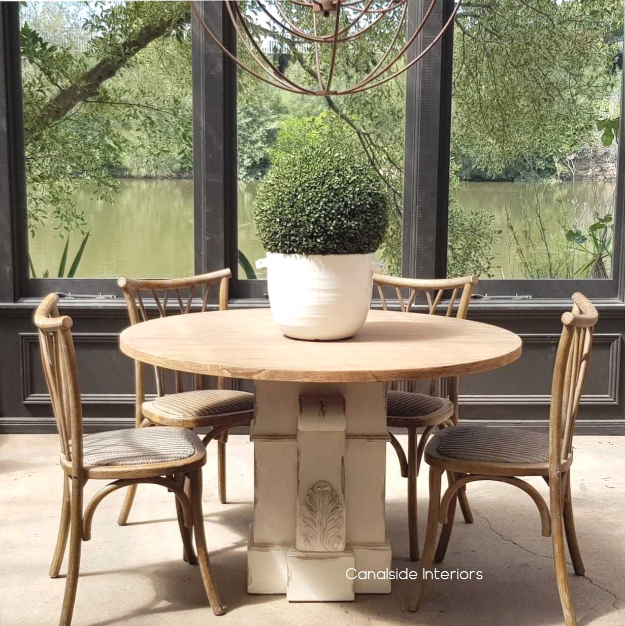 Bolton Round Dining Table Canalside Interiors