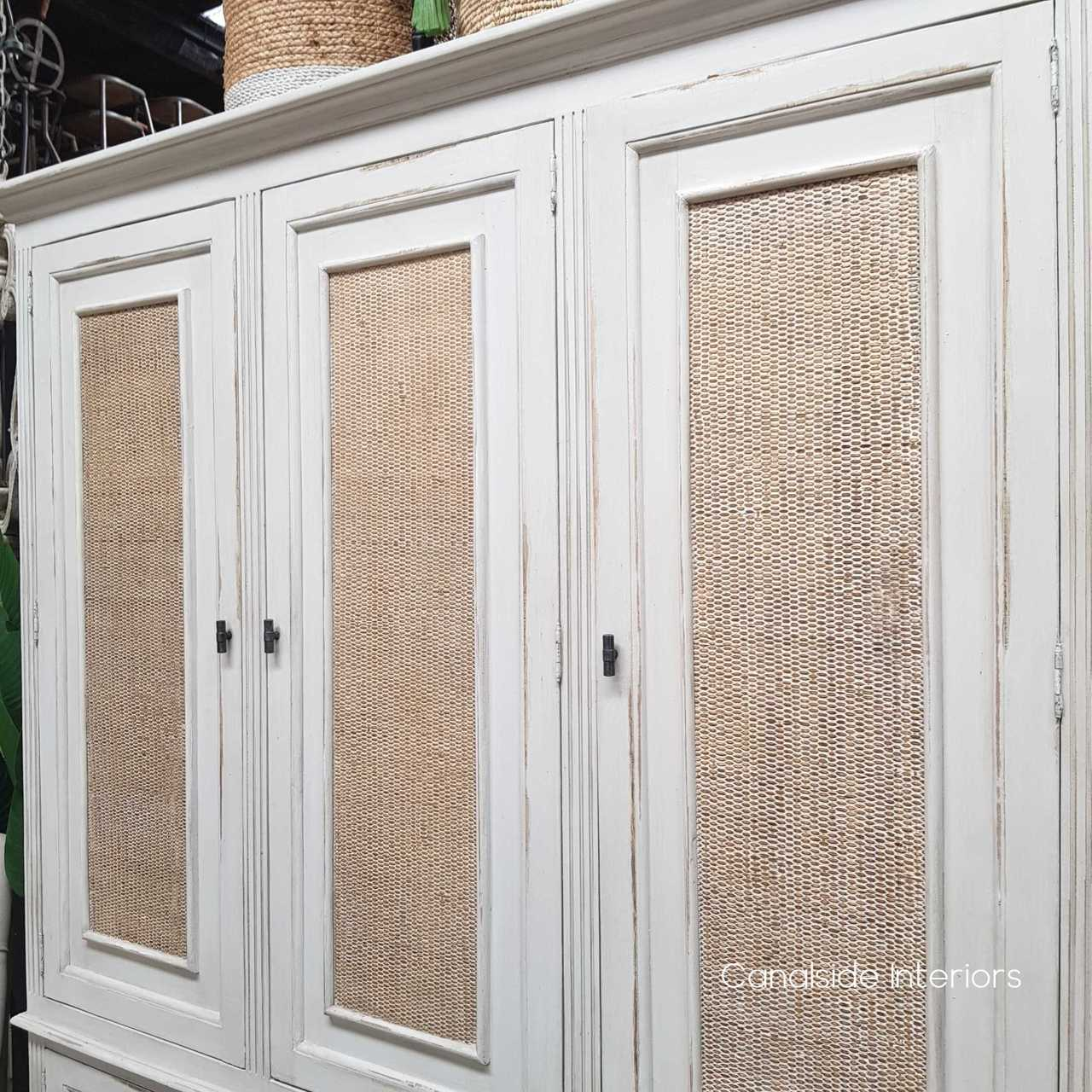 Brielle Rattan Storage Cupboard