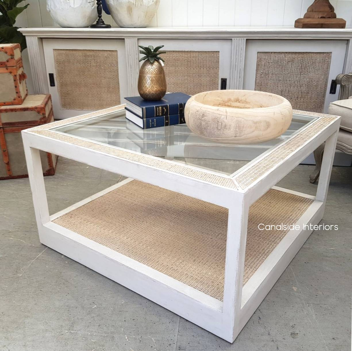 Brielle Rattan Coffee Table  TABLES, HAMPTONS Style, PLANTATION Style, TABLES Coffee Tables, LIVING Room, LIVING Coffee & Side Tables, PLANTATION STYLE