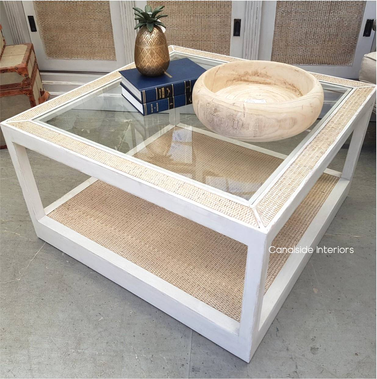 Brielle Rattan Coffee Table