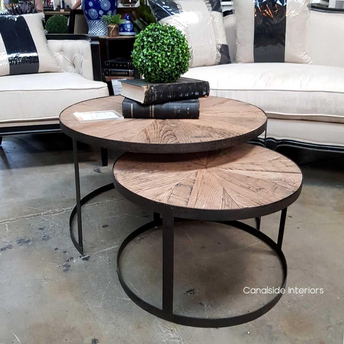 Oak Island Nest Coffee Table
