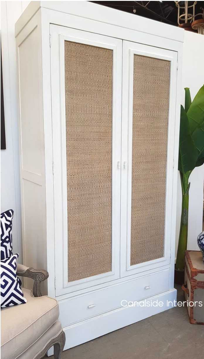 Tweed Hill Rattan Wardrobe