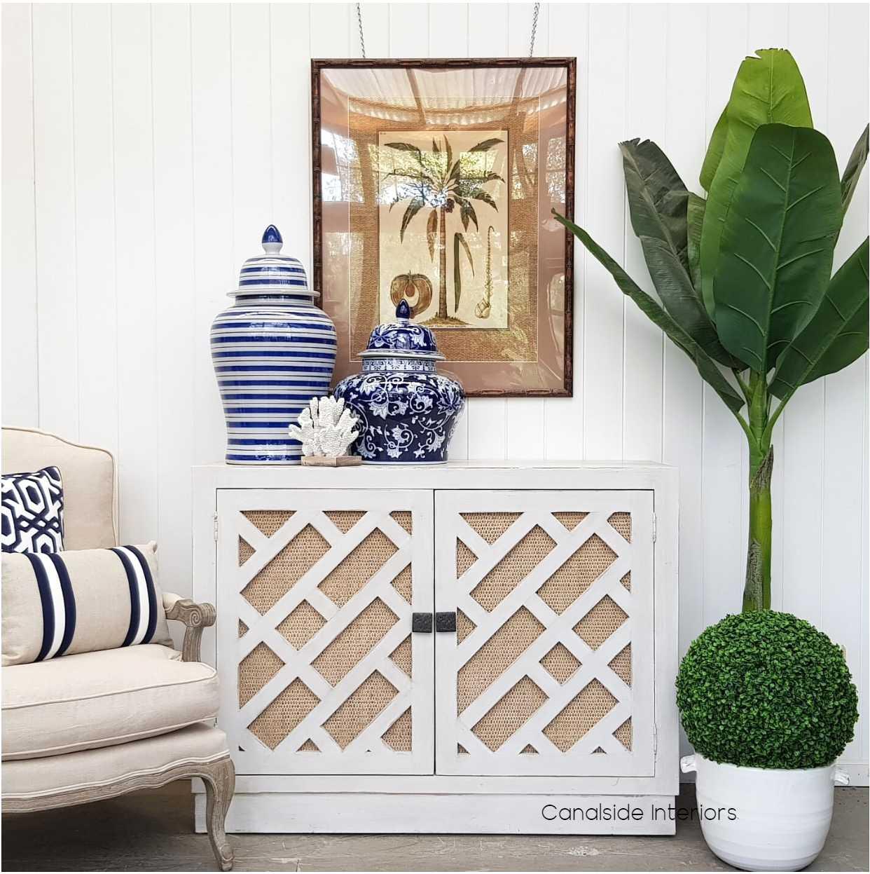 Brielle Botanica Sideboard  HAMPTONS Style, PLANTATION Style, LIVING Room, LIVING TV Media & Storage, TABLES Sideboards & Buffets, STORAGE, STORAGE Sideboards & Buffets, PLANTATION STYLE