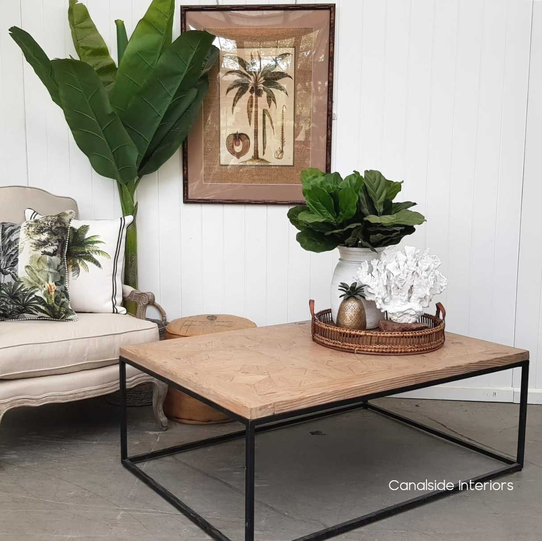 Sandor Parquetry Coffee Table