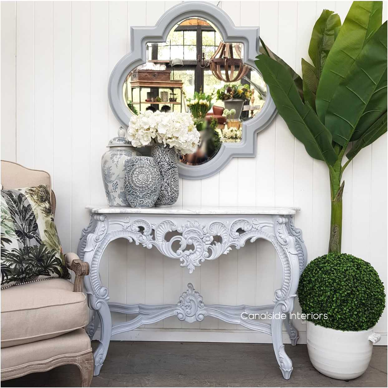 Baroque Marble Console