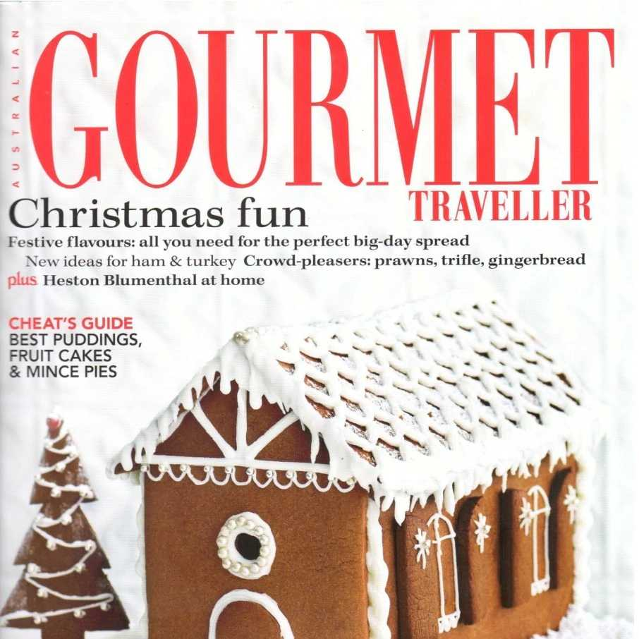 AUSTRALIAN GOURMET TRAVELLER MEDIA