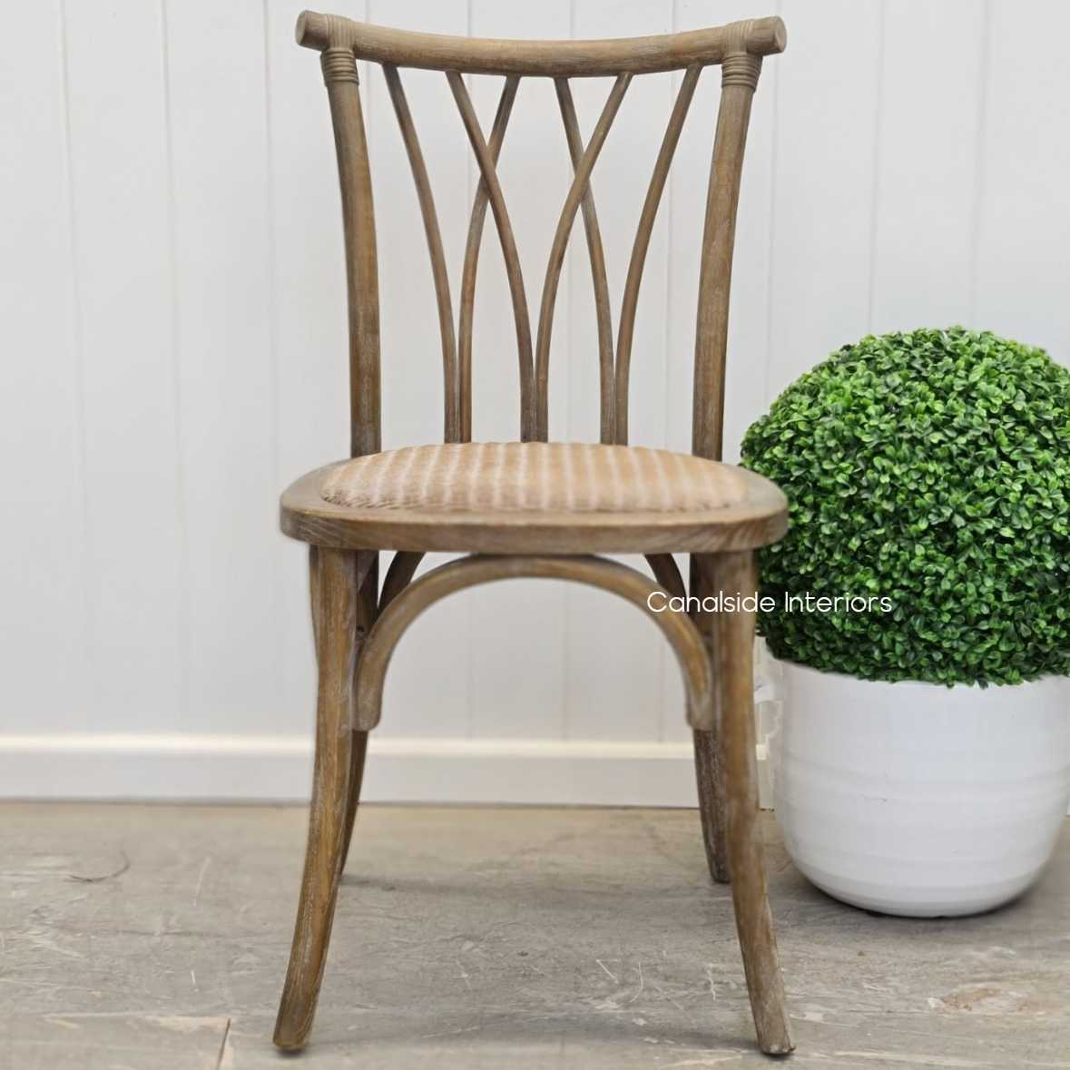Botanica Chair Weathered Oak  Dining, CHAIRS, CAFE FURNITURE, HAMPTONS Style, PLANTATION Style, CHAIRS Dining, CAFE FURNITURE Stools & Chairs, PLANTATION STYLE
