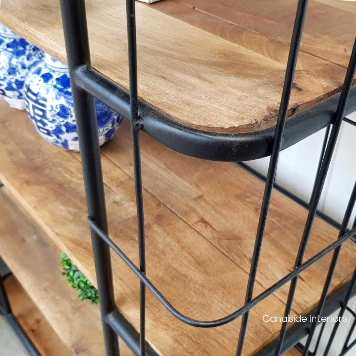 Caged Baker's Rack