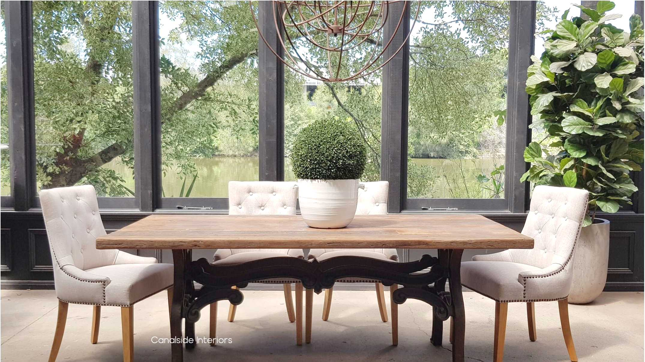 Hobbs Dining table Canalside Interiors