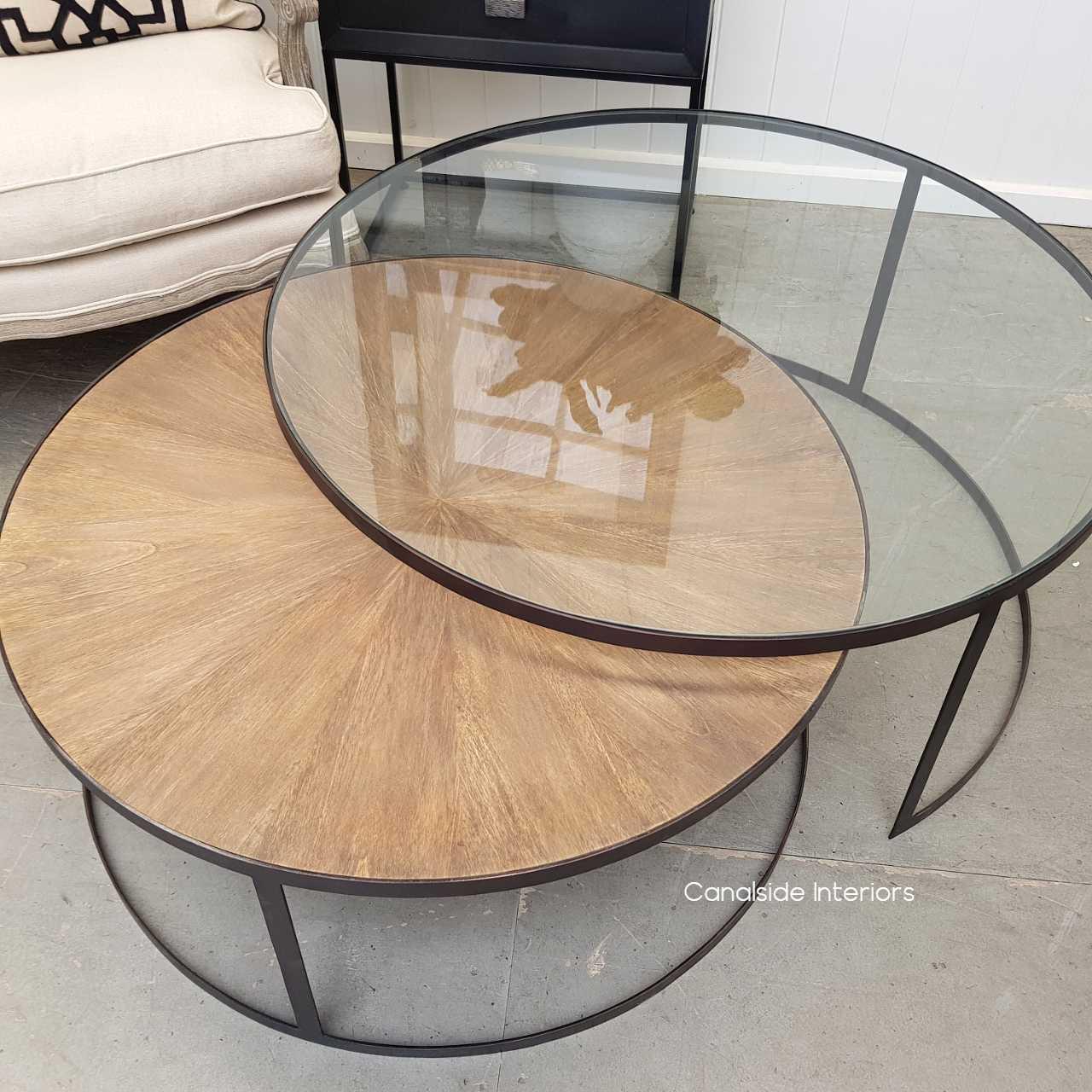 Bermuda Plantation Nesting Coffee Table  TABLES, TABLES Coffee Tables, LIVING Room, LIVING Coffee & Side Tables, PLANTATION STYLE