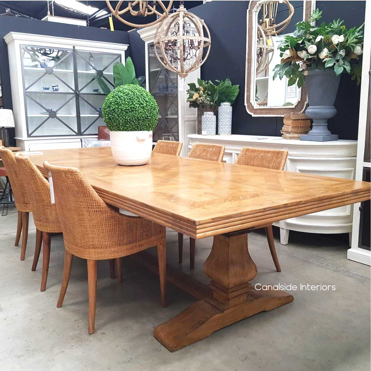 *Wickham Dining Chairs - Natural - IN STOCK
