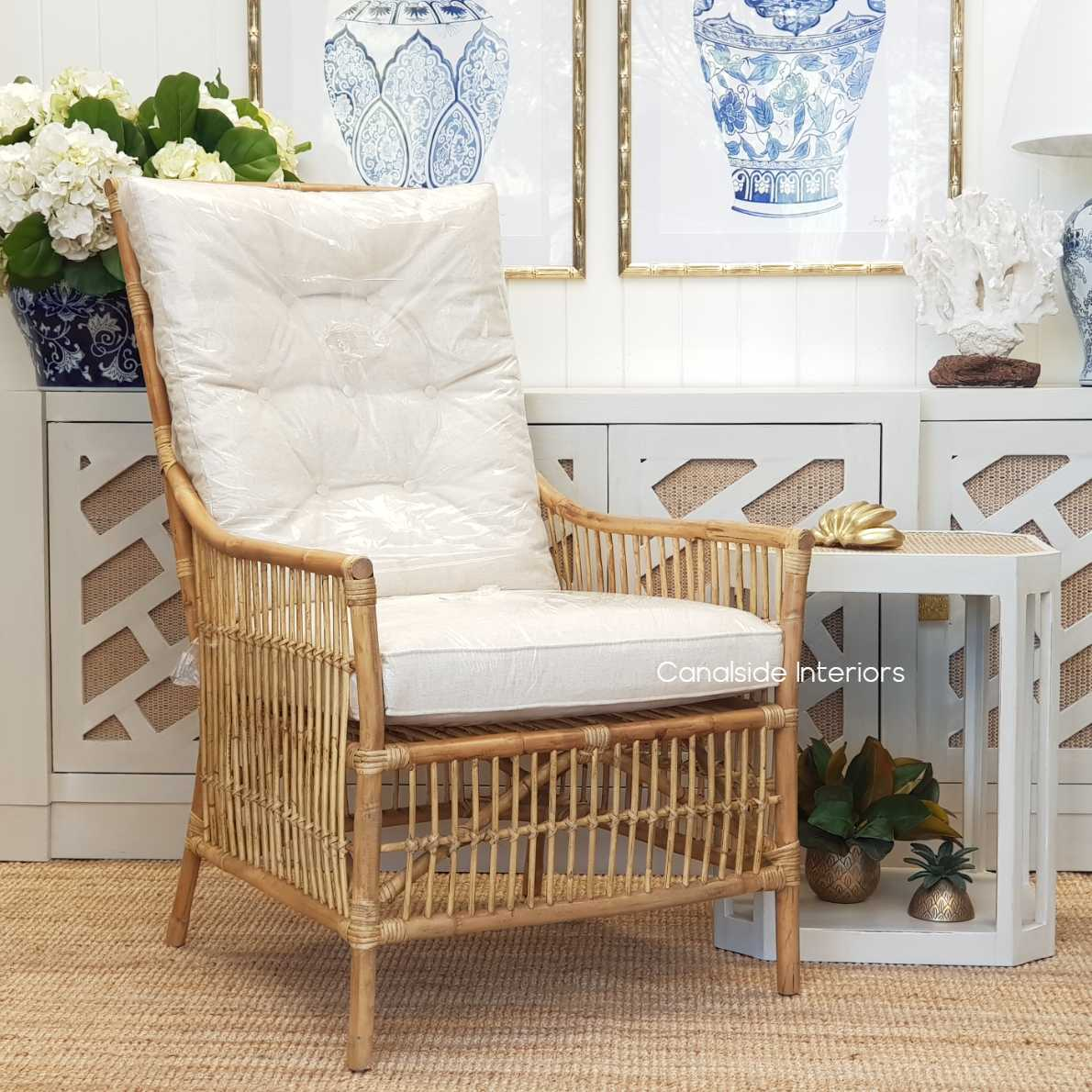 Raffles Cane Armchair  CHAIRS, HAMPTONS Style, PLANTATION Style, CHAIRS Lounge, LIVING Room, LIVING Chairs, PLANTATION STYLE Rattan Island living, british colonial