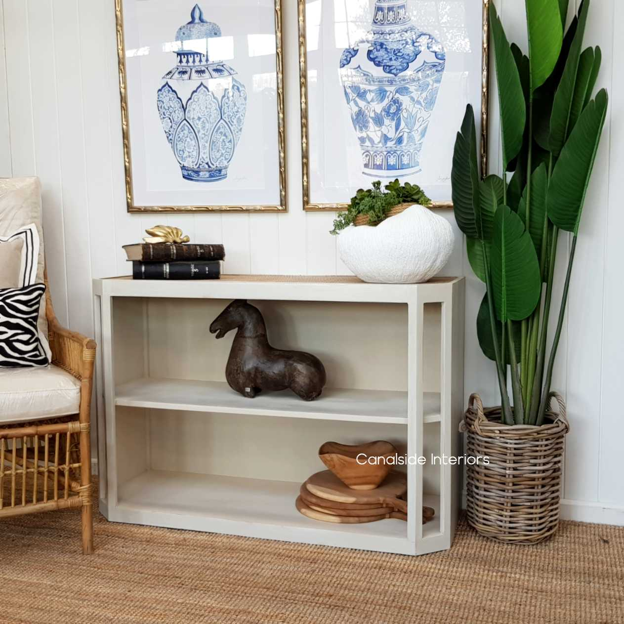Brielle Rattan Console HAMPTONS Style, PLANTATION Style, LIVING Room, LIVING STORAGE Consoles Entryway Living Room Entry shoe island coastal