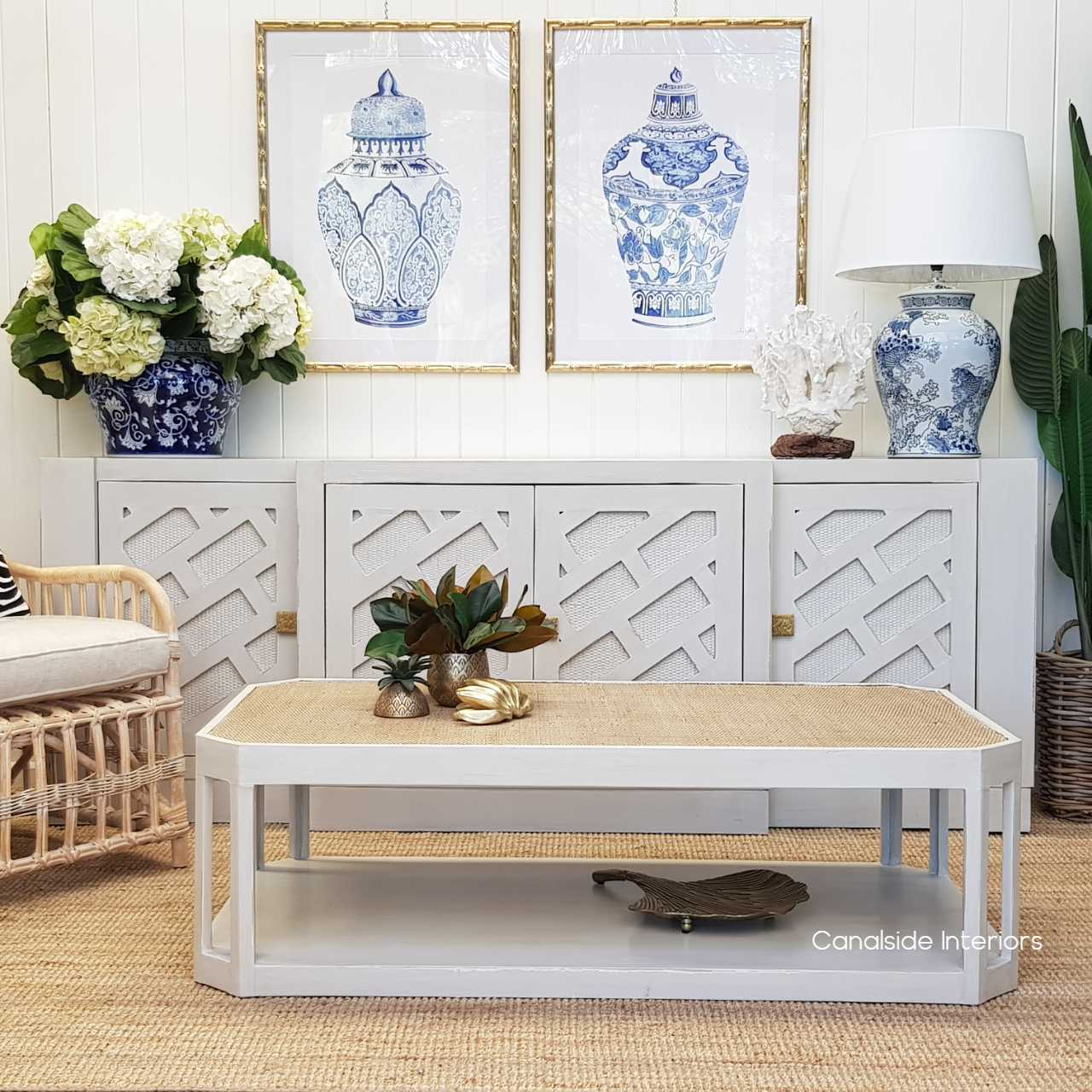 Brielle Rattan Coffee Table  TABLES, HAMPTONS Style, PLANTATION Style, TABLES Coffee Tables, LIVING Room, LIVING Coffee & Side Tables, Coastal, British Colonial, Island
