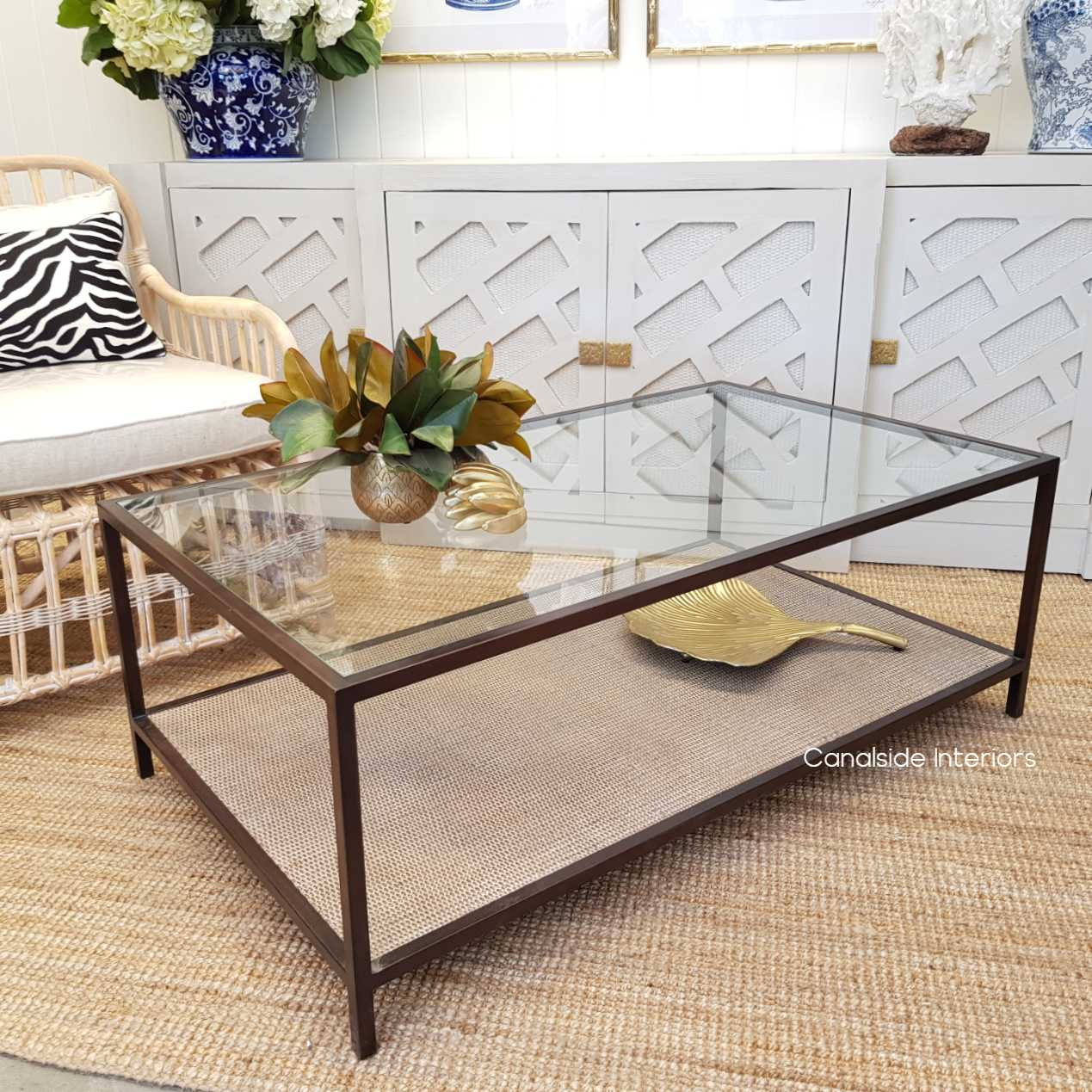 Knox Rattan Plantation Rectangular Coffee Table TABLES, Coffee Tables, LIVING Room, LIVING Coffee & Side Tables, PLANTATION STYLE, island style, British Colonial