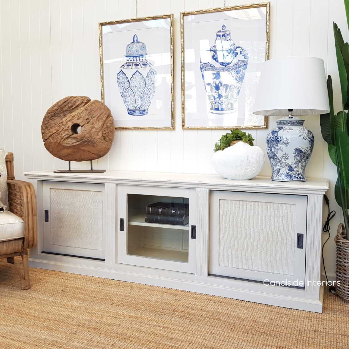 Brielle Rattan Entertainment Unit  HAMPTONS Style, PLANTATION Style, LIVING Room, LIVING TV Media & Storage, TABLES Sideboards & Buffets, STORAGE Sideboards & Buffets, island style, british colonial, provincial, tv unit