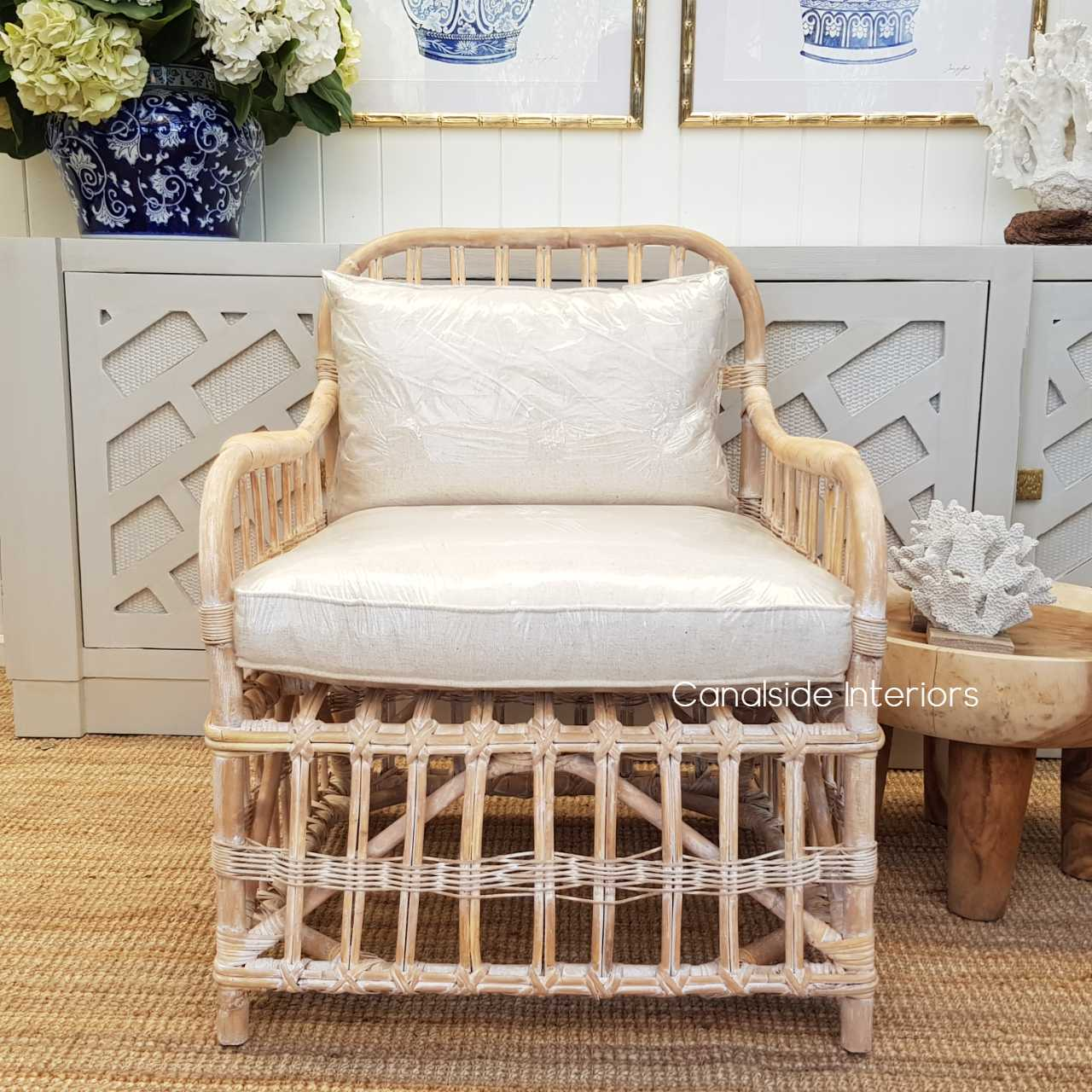 Panama Cane Armchair  CHAIRS, HAMPTONS Style, PLANTATION Style, CHAIRS Lounge, LIVING Room, LIVING Chairs, PLANTATION STYLE Rattan Island living, british colonial