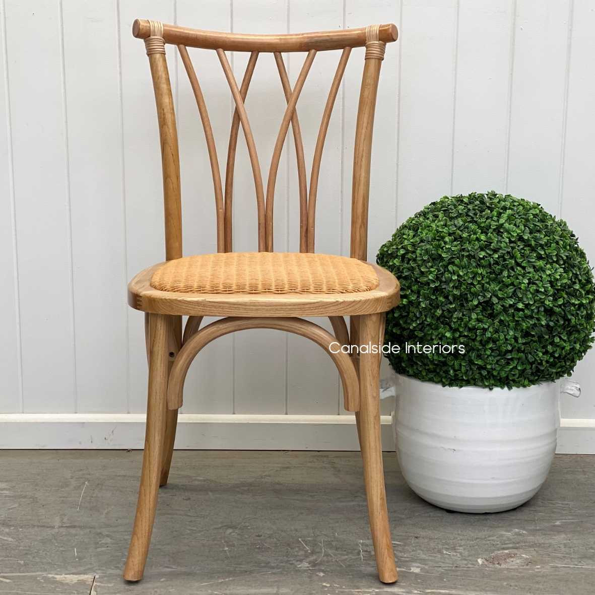 Botanica Chair Natural Dining, CHAIRS, CAFE FURNITURE, HAMPTONS Style, PLANTATION Style, CHAIRS Dining, CAFE FURNITURE Stools & Chairs, PLANTATION STYLE