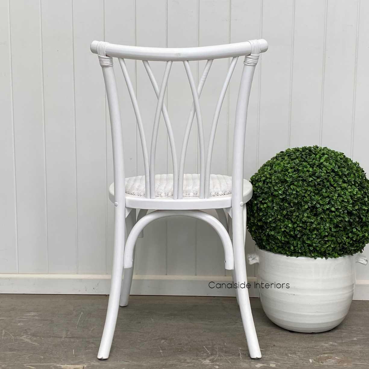 *Botanica Chair - Distr. White - IN STOCK