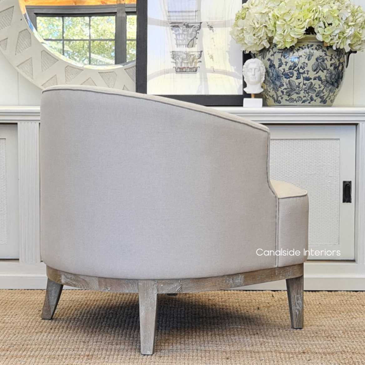 Hamilton Occasional Tub Armchair  CHAIRS, HAMPTONS Style, PLANTATION Style, CHAIRS Lounge, LIVING Room, LIVING Chairs, bedroom