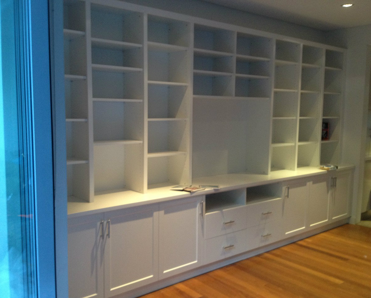 *Custom Wall Units - Coogee Premises