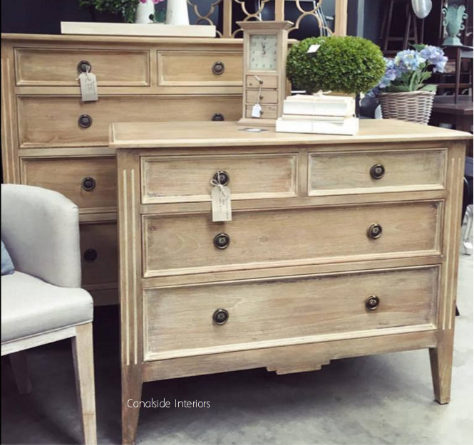 Peninsula 4 Drawer Chest Limewash  BEDROOM, Commodes, Chests, Bookcases & Storage, Childrens Furniture, HAMPTONS Style, PLANTATION Style, BEDROOM Chests & Commodes, TABLES Sideboards & Buffets, STORAGE, STORAGE Sideboards & Buffets