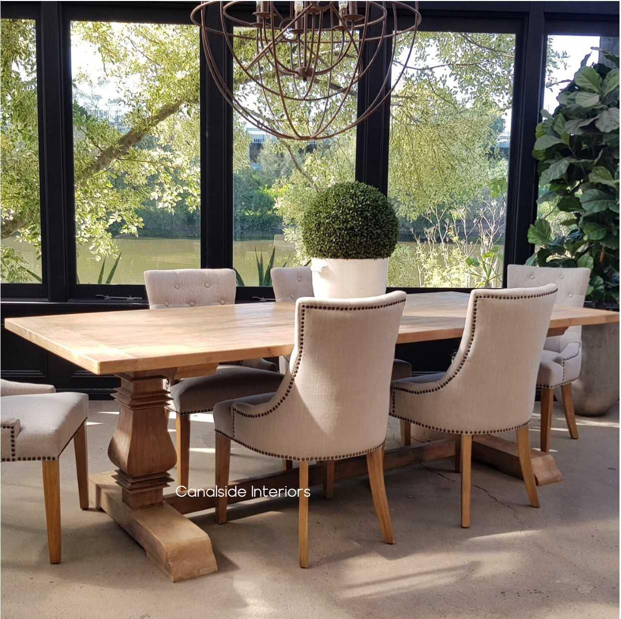 Artisan Hamptons Dining Table Canalside Interiors