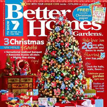 Better Homes and Gardens Magazine MEDIA