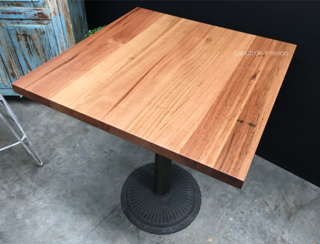 CAFE TABLE TOPS Custom Made to your size NATURAL FINISH CAFE FURNITURE, CAFE FURNITURE Table Tops & Tables