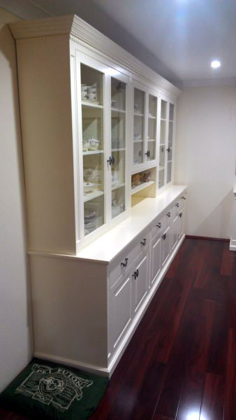 Bespoke Wall Unit Custom Made by Canalside Interiors