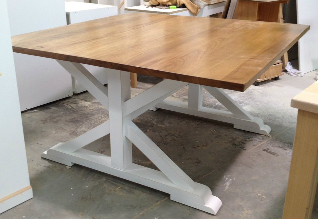 XBase Custom Made Dining Table Square Made to your size Custom Made Wall Units