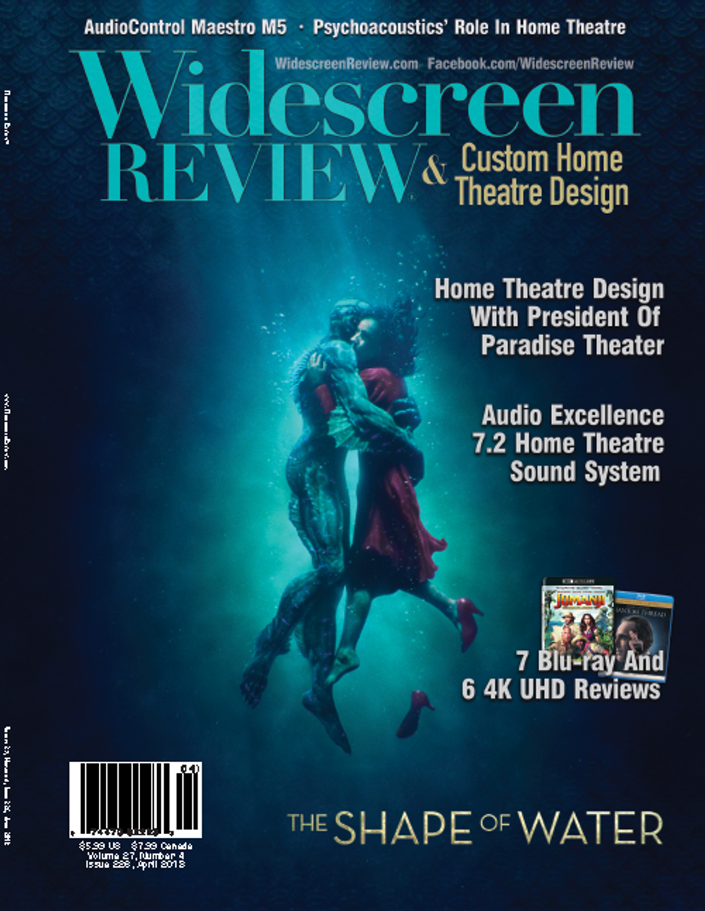 Widescreen Review Issue 226   The Shape Of Water (April 2018)
